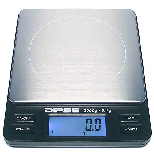 Digitalwaage TP-2000 Feinwaage die in 0,1 g Schritten präzi...
