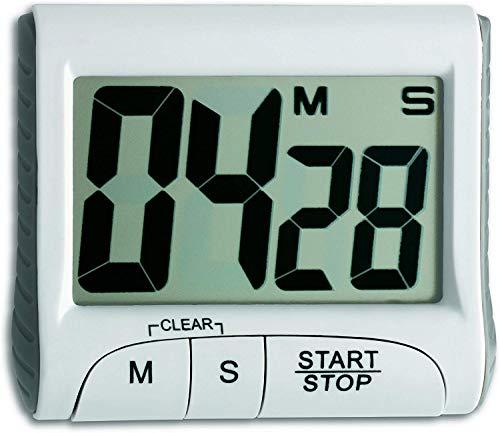 TFA Dostmann Digitaler Timer, 38.2021, Stoppuhr, klein und h...