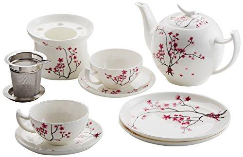 TeaLogic 2 Personen Teeservice Cherry Blossom