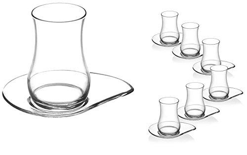 18-teilig LAV Orginal türkisches Tee Set Teeset \'EVA\'/ 6 ...