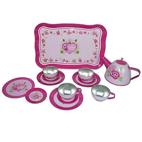 Puppen-Teeservice | Kinder-Kaffeeservice aus Porzellan PW 21...