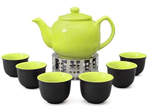 Aricola Teeservice bestehend aus Teekanne Malika grün 1,2 L...