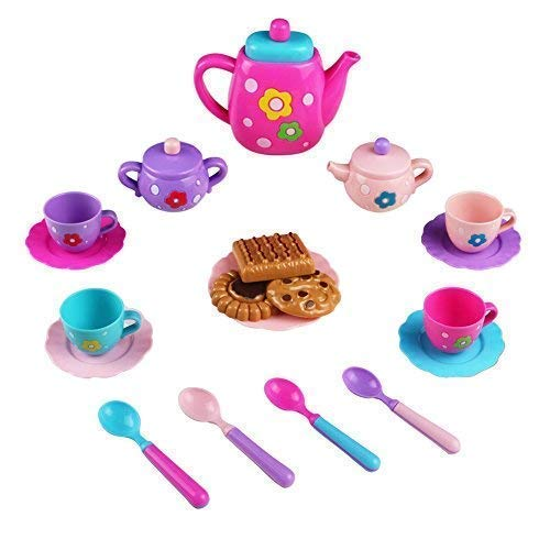 Teeservice Kaffeeservice Kinder Mini Tee Set Spielzeug Puppe...